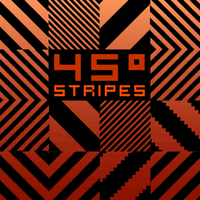 45 Degrees Stripes Pattern by nagash