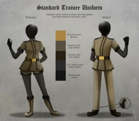 Trainee Uniform by AltrusContinent
