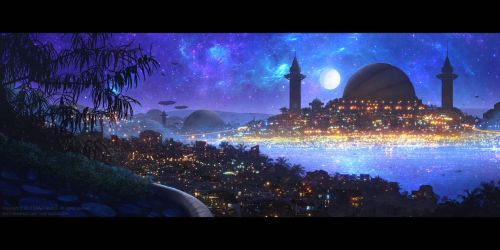 +City of Thousands of Lights+ by ERA-7