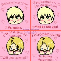 APH Valentine's Day Cards by iTurtleParis