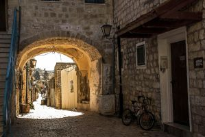 Walking in the old city by ShlomitMessica
