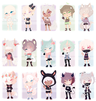 [CLOSED] + Custom by Ryuseigkm-Adopts