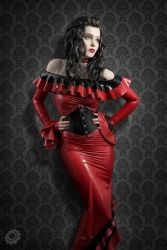 Latex Goddess by luciekout