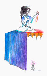 Princess Blue Wing by Clayem