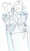 magik on throne ! :D by Selkirk