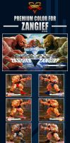 Street Fighter V - Zangief Premium Color by Ztitus by Ztitus
