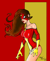 Spider Woman Costume Variant by portfan