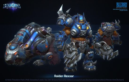 Hots Raider Rexxar by polydrawer