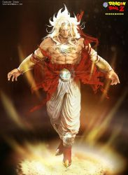 Broly DBZ challenge by CaliCg