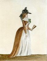 Late 1780's Dress Sketch by MouseBorg
