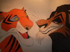 bad duo - shere khan and scar by Anshena