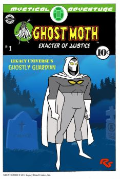 Ghost Moth (2) by Guiron by LegacyHeroComics