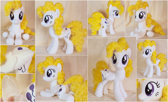 Surprise Plushie with Real Feather Wings by ButtercupBabyPPG