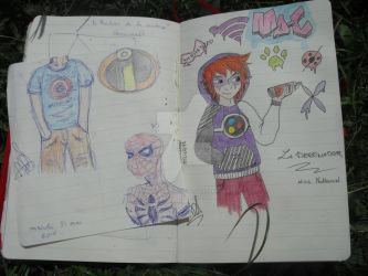 petits dessins comme sa  by MelRavenswood