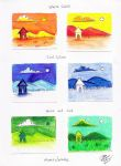 Color Key Exercises by Diana-Huang