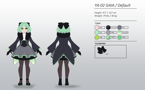 YA-02 Gaia Default Reference by LadyOgien
