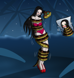 Request Christmas : boa hancock coiled by Gregory-GID-DID
