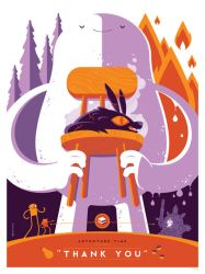 mondo: adventure time: thank you by strongstuff