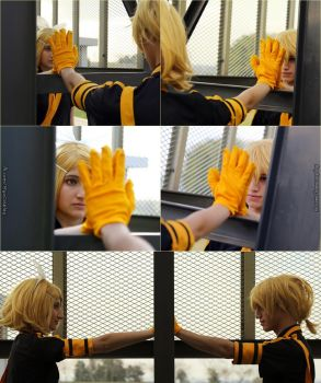 Kagamine Rin, Len ''Love is War'' Mirror - Cosplay by Myu-Chan-Cosplay