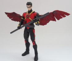 New 52 Red Robin custom action figure by Jedd-the-Jedi