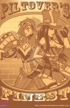 Piltover's Finest by a-bad-idea