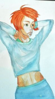 Akane  by thedrumergirl