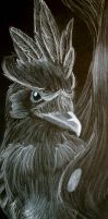 Realistic Murkrow by Brokenfeather-san