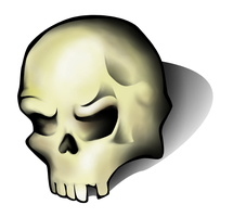 Skull by turtlegirlman