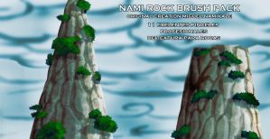 nami_rock's brush pack 2011 by miguelnamikaze005