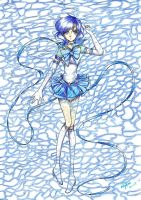 Eternal sailor mercury by Nekkohime