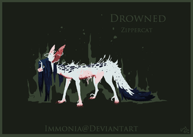 Holiday Zippercat: Drowned [CLOSED] by Immonia