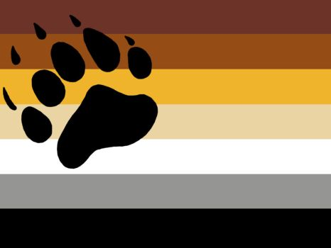 Bear Community Flag by MEMDB