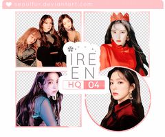 IRENE / RED VELVET / PNG PACK 02 by seoulfur by seoulfur