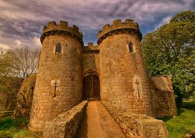 Whittington Castle by runwhat