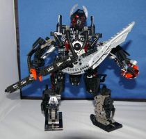Akinat the Bionicle Reaper by Viddax378