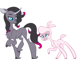 Pom and Oleander by SongheartVa