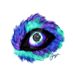Blackberry's eye c: by The-Poker