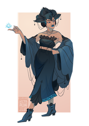 [open] Adopt - Sorceress by fionadoesadopts