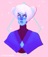Steven Universe || Holly Blue Agate [Speedpaint] by H0nk-png