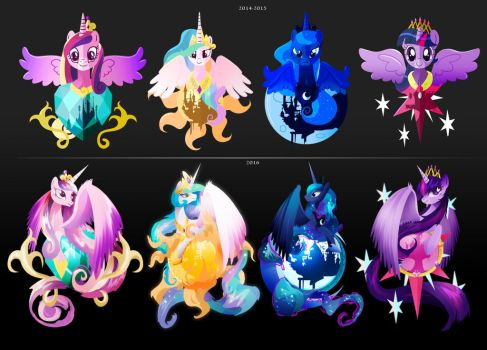 Draw this Again: The Princess Collection by II-Art