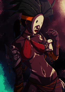 Cry: The Witch Doctor by Kiwa007