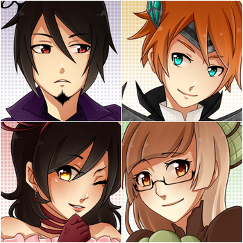 :Suits:of:Cards:Icons: by KaiSuki