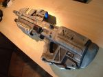 MA37 Assault Rifle - Halo Prop (Angle View) by Flyntendo