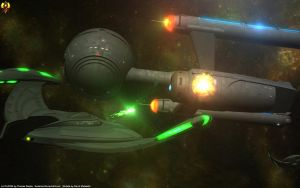 A blink in the romulan War by Euderion