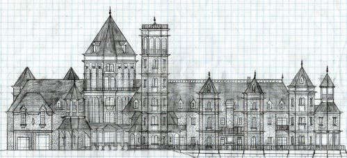Trippy Palace 2: Front Elevation by Graywolf95