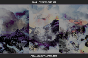 TEXTURE PACK #16 - peak by psdlands