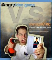 AVGN vs NC - Poster by cpt-joe