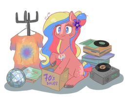Flower Child - back in the 70s by KYAokay