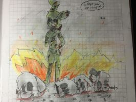 I Hope you Die in a Fire!!!! by Applitol