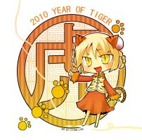 2010 YEAR OF TIGER by CITRUSLOVE